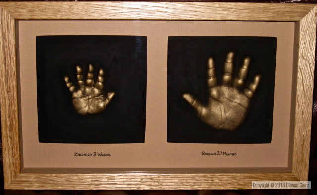 Family Set - 2 Single Handprints
