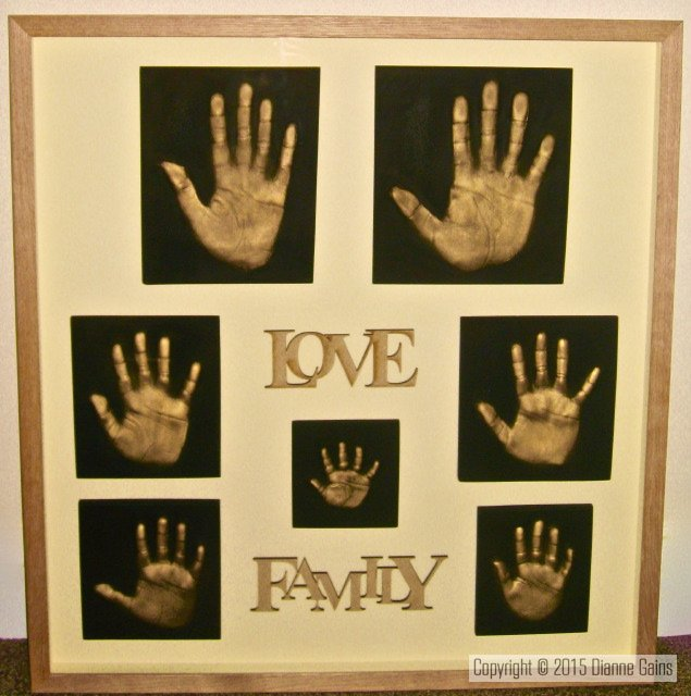Family Set 7 Single Handprints