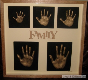 Family Set 5 Single Handprints