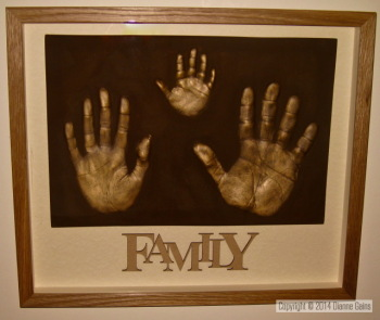 Family Set - 3 Single Handprints