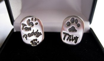 Chunky Deluxe Cufflinks - Pets Paws & Horses Hooves