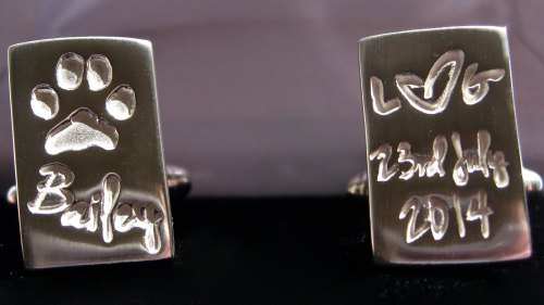 Chunky Cufflinks - Pets Paws & Horses Hooves