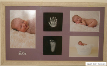 Baby - 3 Images, Single Hand & Single Footprint