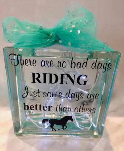 No Bad Days Riding!