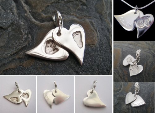 SWING LOCKET CHARM - Choose Your Impressions (choose your shape and attachm