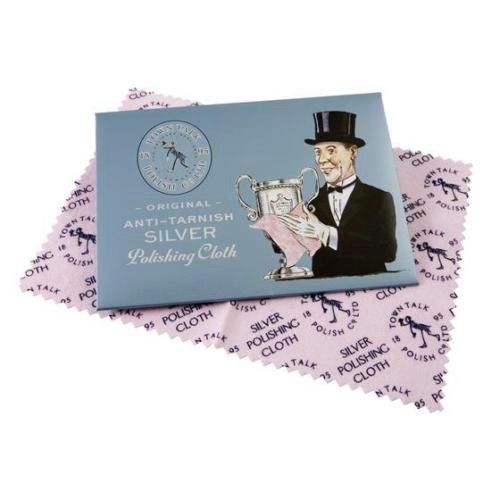 Talk Town Silver Polishing Cloth