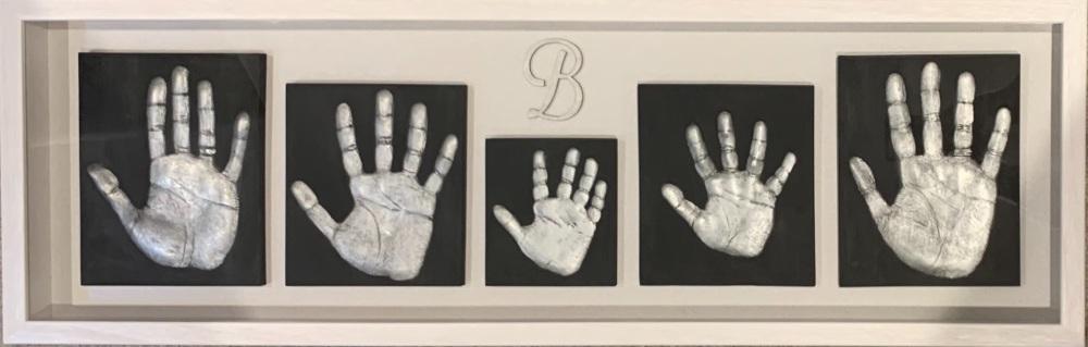 Family Set 5 Single Handprints
