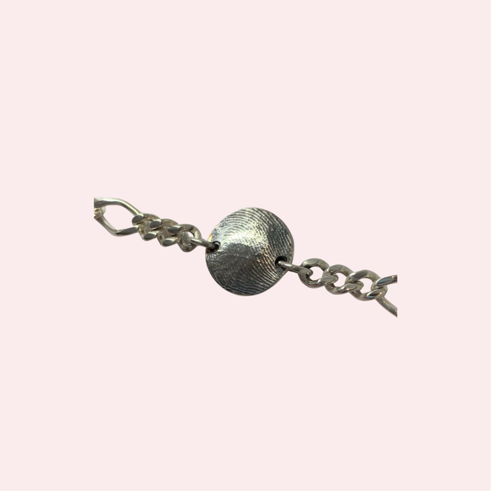 Bracelet & Small Central Charm