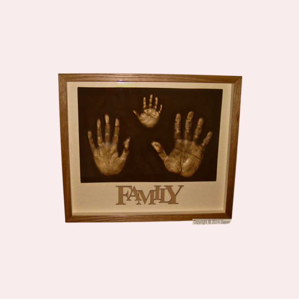 Family Set - 3 Single Handprints