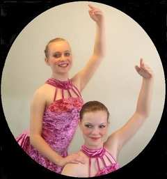 Vicky and Maia ballet