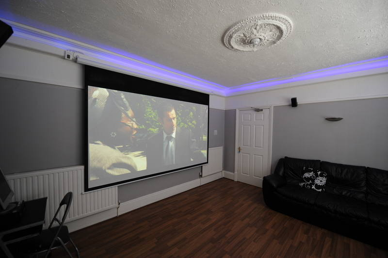 Cinema Room Screen