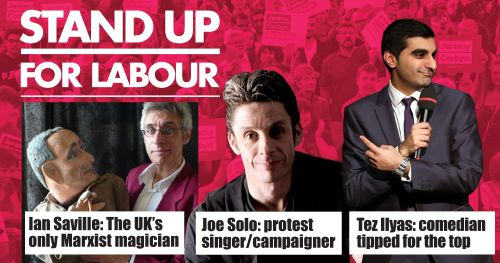 Stand up for Labour - Saltburn £8 (advanced ticket) - 26 May