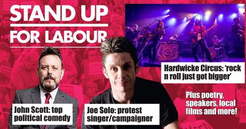 Stand up for Labour - Carlisle, Tuesday 30 May (earlybird ticket)