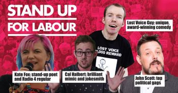 Stand up for Labour - Saltburn, 13 December (Earlybird tickets)