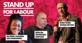 Stand up for Labour - Chingford, 7 December (earlybird tickets)