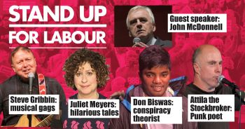 Stand up for Labour - Central London, Friday 17 November