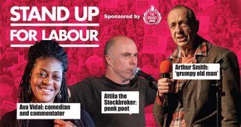 Stand up for Labour - Kensington, 14 December (earlybird tickets)