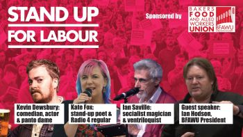 Stand up for Labour - Bolton West - Friday 26 January