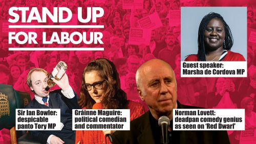 Stand up for Labour - Battersea - Friday 2 February