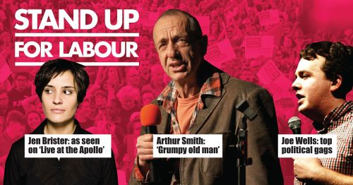 Stand up for Labour - Aldershot, 14 March, 7:30pm