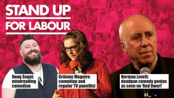 Stand up for Labour - Stoke Central, 15 June, 7:30pm - advanced ticket
