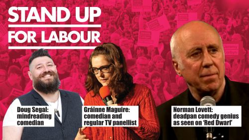 Stand up for Labour - Stoke Central, 15 June, 7:30pm - earlybird ticket