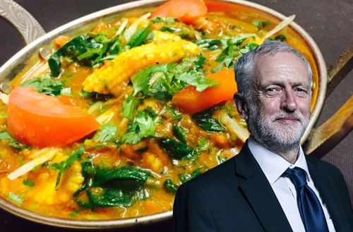 Curry for Corbyn at the Party Conference, Tues 25th September, Sanskruti Re