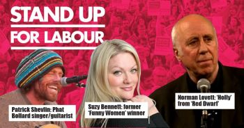 Stand up for Labour - Plymouth, 29th November, 7:30pm, earlybird tickets