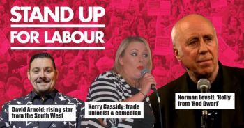 Stand up for Labour - Falmouth, 30th November, 7:30pm, earlybird tickets