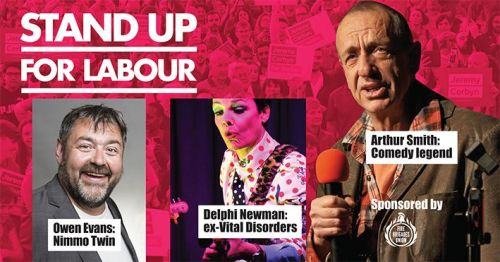 Stand up for Labour - North Norfolk, 20th December, 7:30pm (earlybird ticke