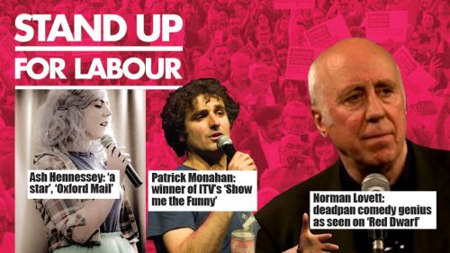 Stand up for Labour - Wheatley, Thursday 13th December, 7:30pm (earlybird t