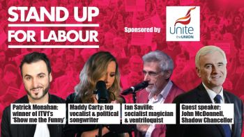 Stand up for Labour - Harrow, 17th March 7:30pm, earlybird tickets