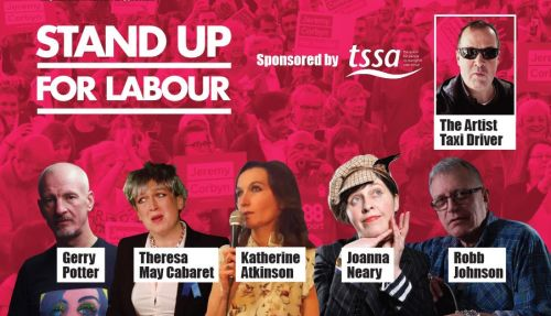 Stand up for Labour - Brighton, Friday 22nd March, 7:30pm (earlybird)