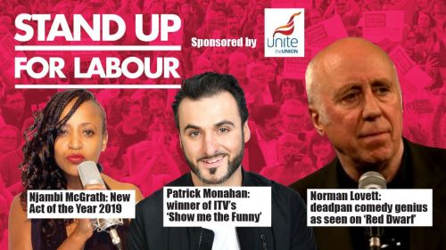Stand up for Labour - Southampton, Monday 1st April, 7:30pm (earlybird)