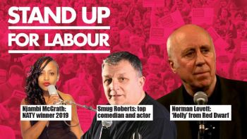 Stand up for Labour - Stafford, Thursday 11th April, 7:30pm (advanced)