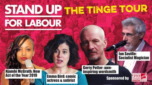 THE TINGE TOUR - Liverpool Wavertree, Thursday 16th May, 7:30pm (Table for