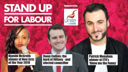 Stand up for Labour - Chipping Norton, Thursday 5th September, 7:30pm (earl