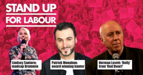 Stand up for Labour - Cheltenham, Thursday 12th September, 7:30pm (earlybir