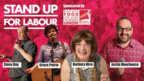 Stand up for Labour - NE Derbyshire, Sunday 1st December, 7:30pm (earlybird