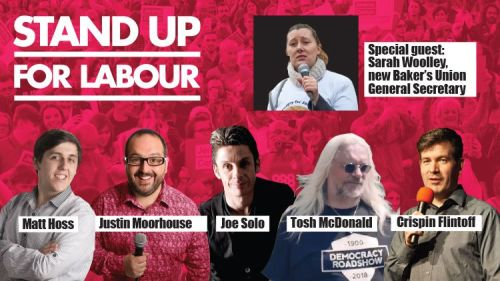 Stand up for Labour - Rotherham, Sunday 17th November, 7:30pm (earlybird)