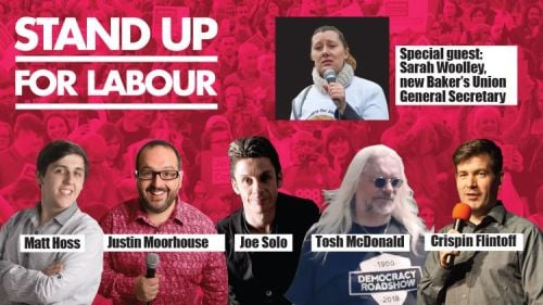 Stand up for Labour - Rotherham, Sunday 17th November, 7:30pm (table for fo