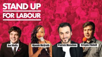 Stand up for Labour - Dorchester, Wednesday 4th December, 7:30pm (advanced)