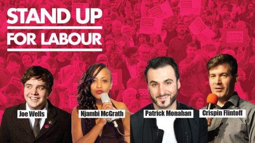 Stand up for Labour - Dorchester, Wednesday 4th December, 7:30pm (earlybird
