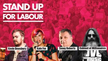 Stand up for Labour - Shipley, Thursday 5th December, 7:30pm (advanced)