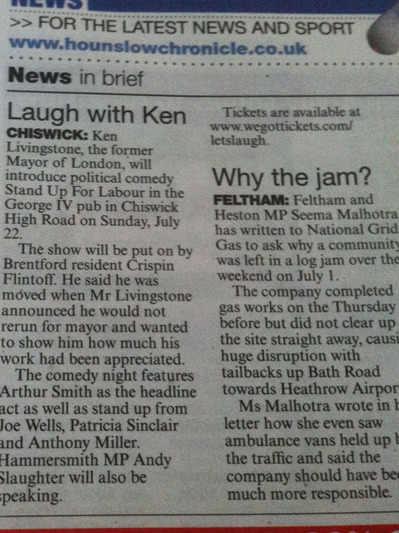 Ken and Arthur pre Chronicle