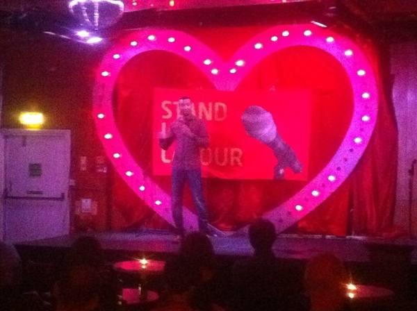 Imran Yusuf on stage
