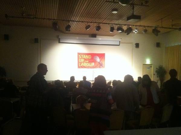 Immingham pre-show