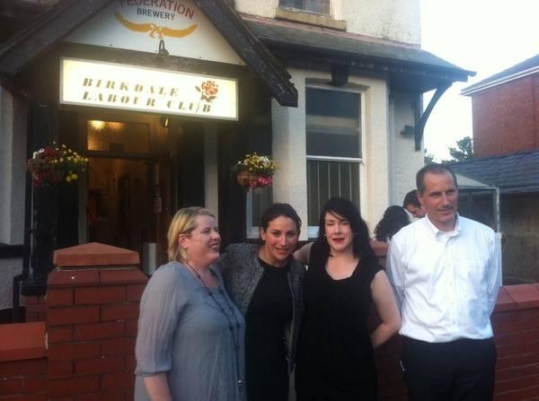 Outside Birkdale Labour Club