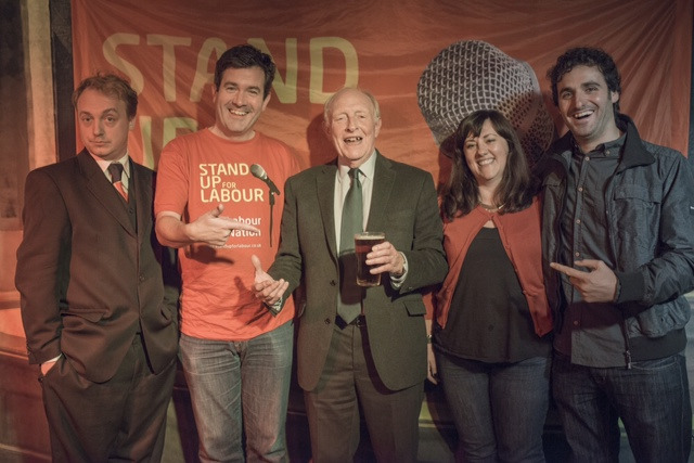 neil kinnock and pint