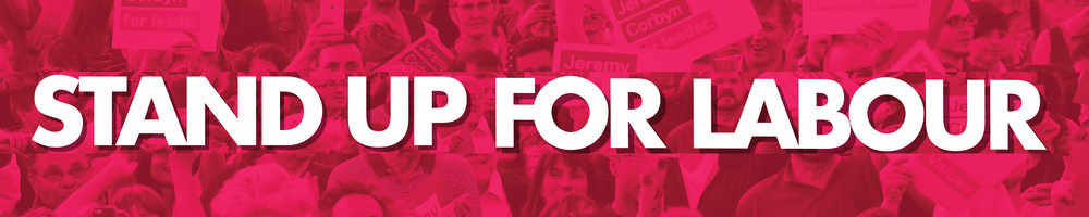 Stand up for Labour, site logo.